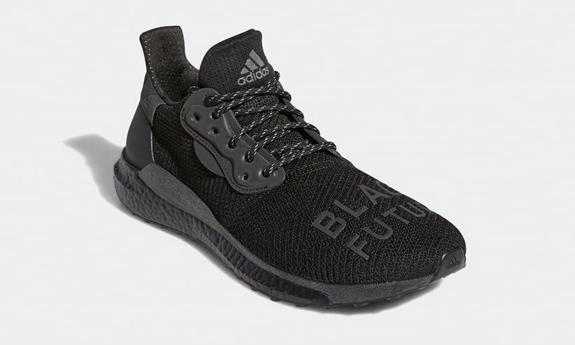 """12/12 発売!Pharrell Williams x adidas Solar Hu """"Black Future"""" (ファレル・ウィリアムス アディダス ソーラー HU """"ブラックフューチャー"""") [GX2485]"""