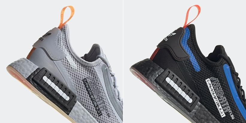 """12/3 発売!NASA × adidas Originals NMD_R1 SPECTOO """"Hello Silver/Core Black"""" (ナサ アディダス オリジナルス エヌ エム ディー """"ハローシルバー/コアブラック"""") [FZ3200,FZ3201]"""