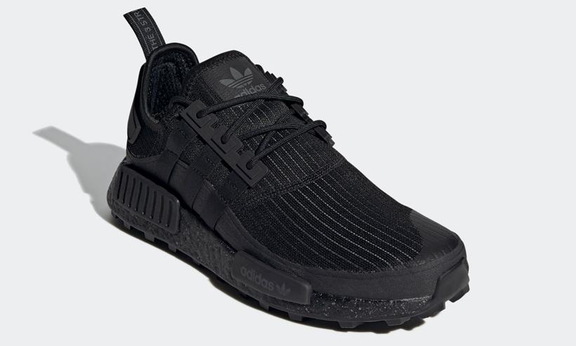 """12/3 発売!adidas Originals NMD_R1 TR """"Core Black/Grey Six"""" (アディダス オリジナルス エヌ エム ディー TR """"コアブラック/グレーシックス"""") [FX6813]"""