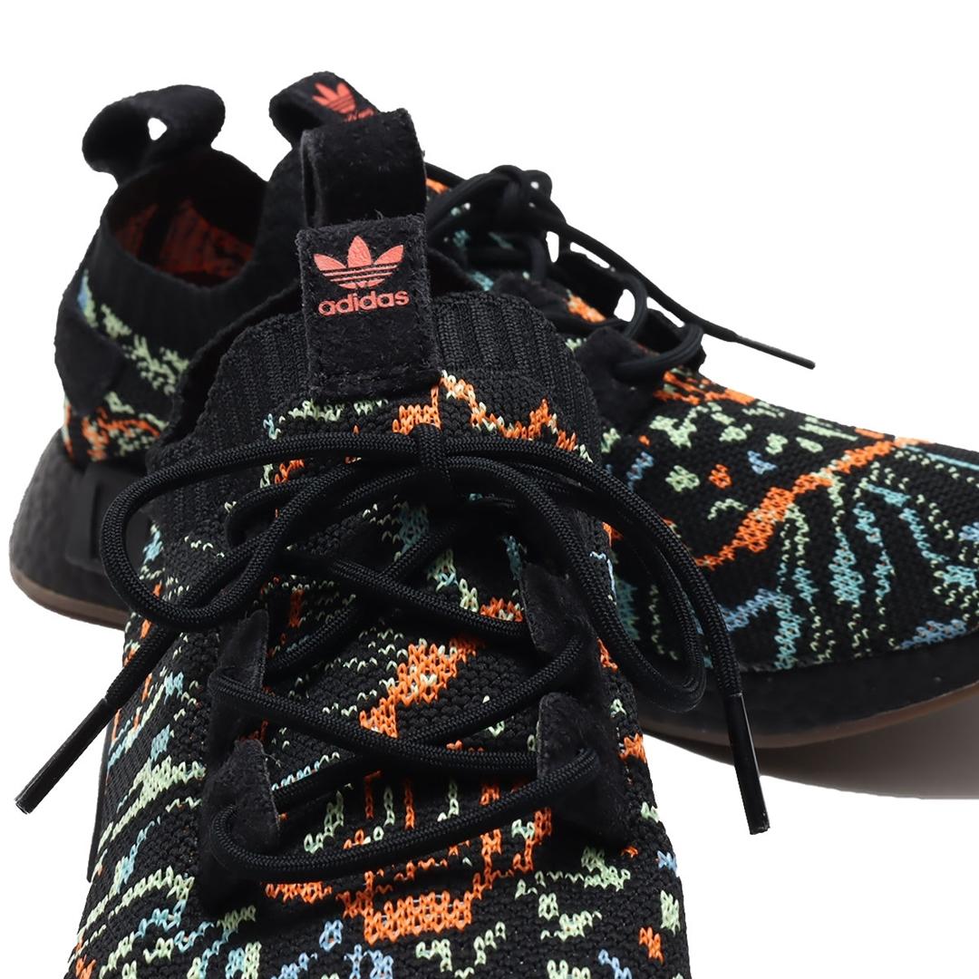 """1/14 発売!adidas Originals NMD_R1 PRIMEKNIT """"Core Black"""" (アディダス オリジナルス エヌエムディー """"コアブラック/ガム"""") [G57941]"""