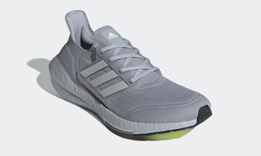 """2/4 発売!adidas ULTRA BOOST 21 """"Halo Silver"""" (アディダス ウルトラ ブースト 21 """"ハロシルバー"""") [FY0432]"""