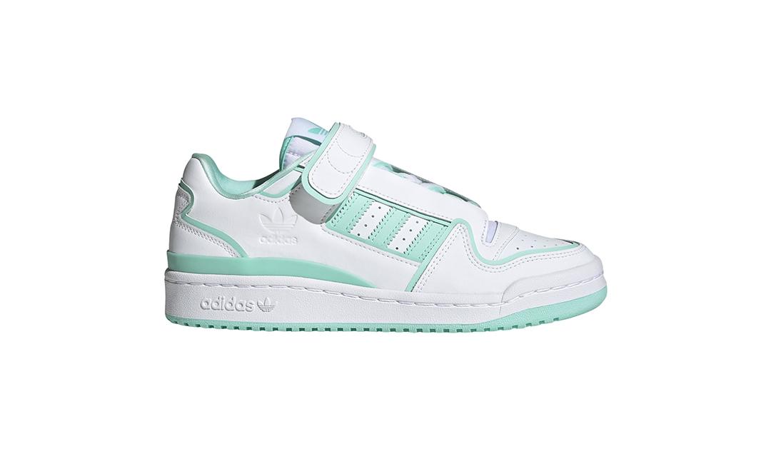 "adidas Originals FORUM LOW PLUS ""Green/White"" (アディダス オリジナルス フォーラム ロー プラス ""グリーン/ホワイト"") [FY4529]"