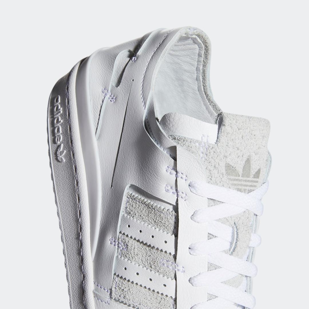 """adidas Originals FORUM 84 LOW """"Minimalisty"""" White (アディダス オリジナルス フォーラム 84 ロー """"ミニマリスティ"""" フットウェアホワイト) [FY7997]"""