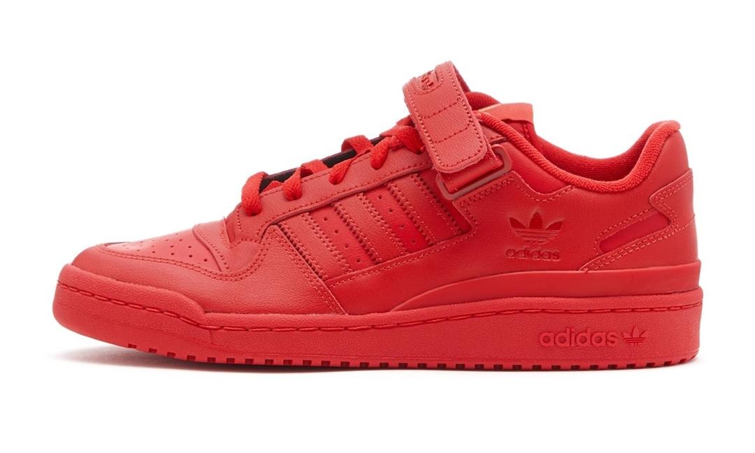 """1/30 発売!adidas Originals FORUM LOW """"Triple Red"""" (アディダス オリジナルス フォーラム ロー """"トリプルレッド/スカーレット"""") [GX4991]"""
