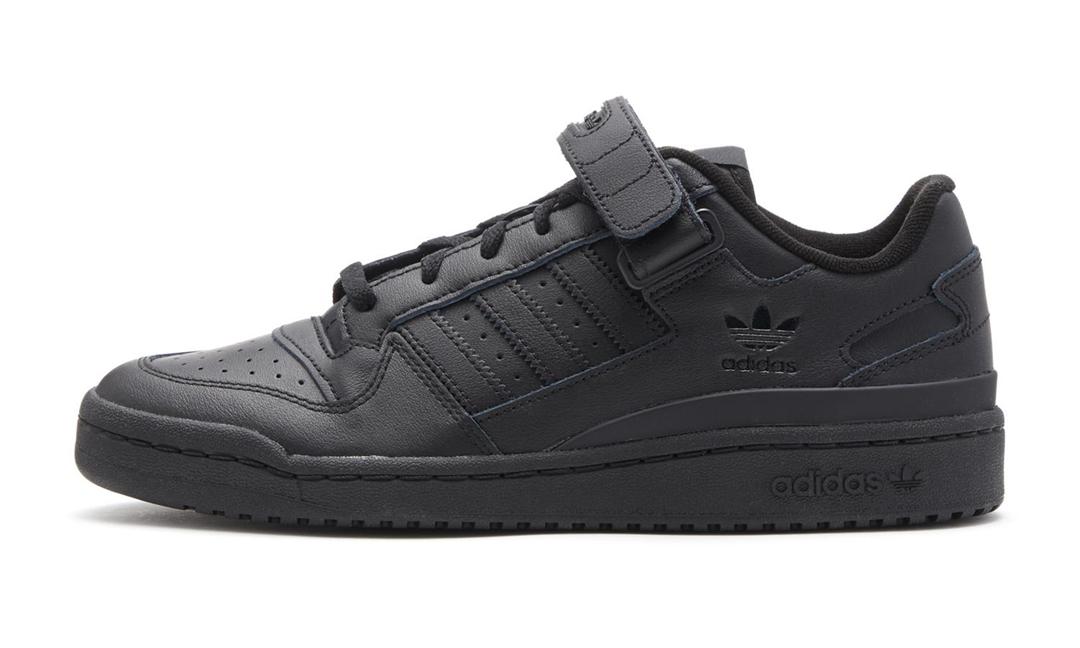 """1/30 発売!adidas Originals FORUM LOW """"Triple Black"""" (アディダス オリジナルス フォーラム ロー """"トリプルブラック"""") [GX4992]"""