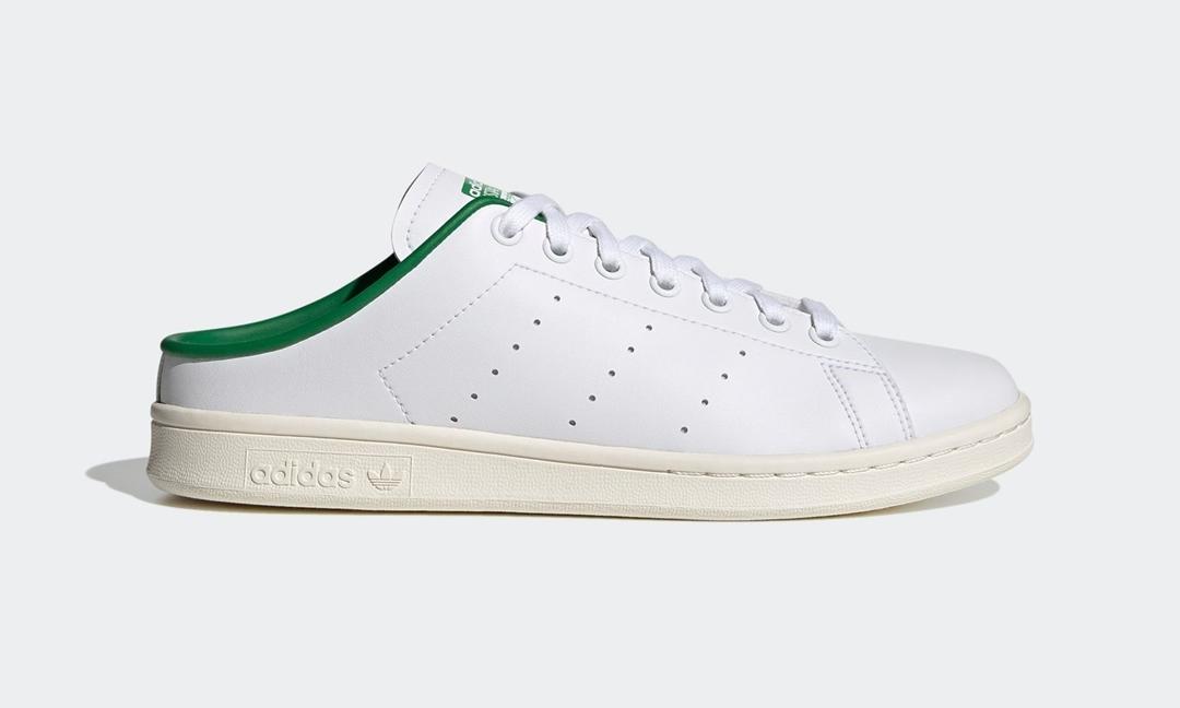 """1/28 発売!アディダス オリジナルス スタンスミス ミュール """"ホワイト/グリーン"""" (adidas Originals STAN SMITH MULES """"White/Green"""") [FX5849]"""