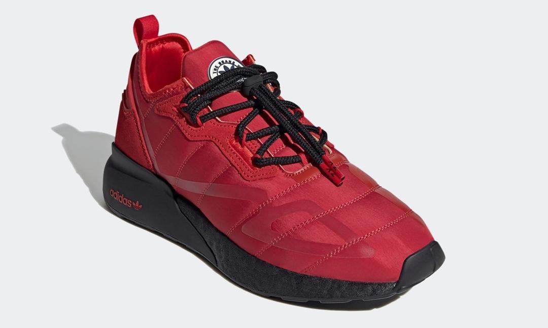 """2/10 発売!アディダス オリジナルス ゼットエックス 2K ブースト """"スカーレット/コアブラック"""" (adidas Originals ZX 2K BOOST """"Scarlet/Core Black"""") [H05132]"""