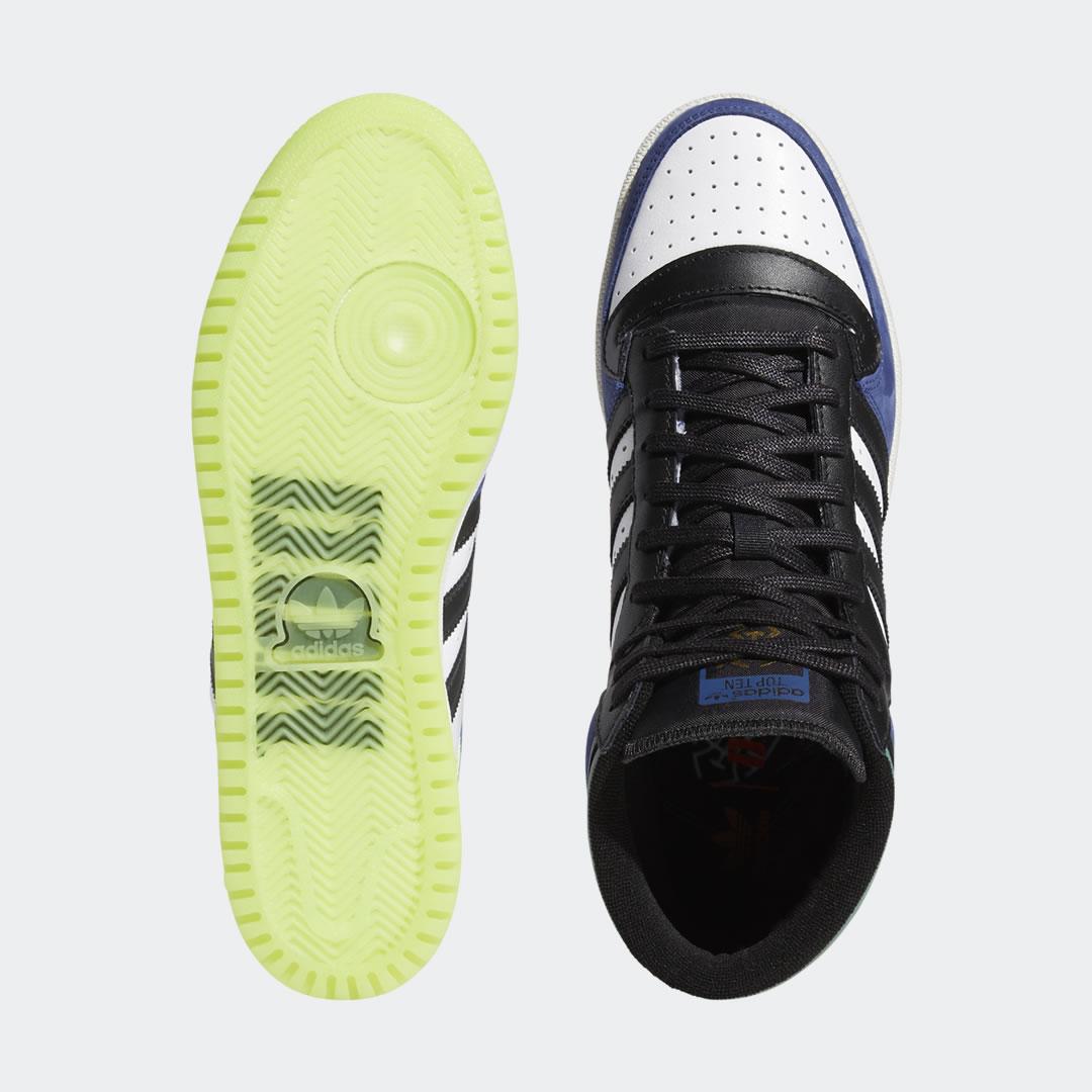 """2/21 発売!adidas Originals TOP TEN HI """"Navy/Black/Yellow"""" (アディダス オリジナルス トップテン ハイ """"ネイビー/ブラック/イエロー"""") [GW4978]"""