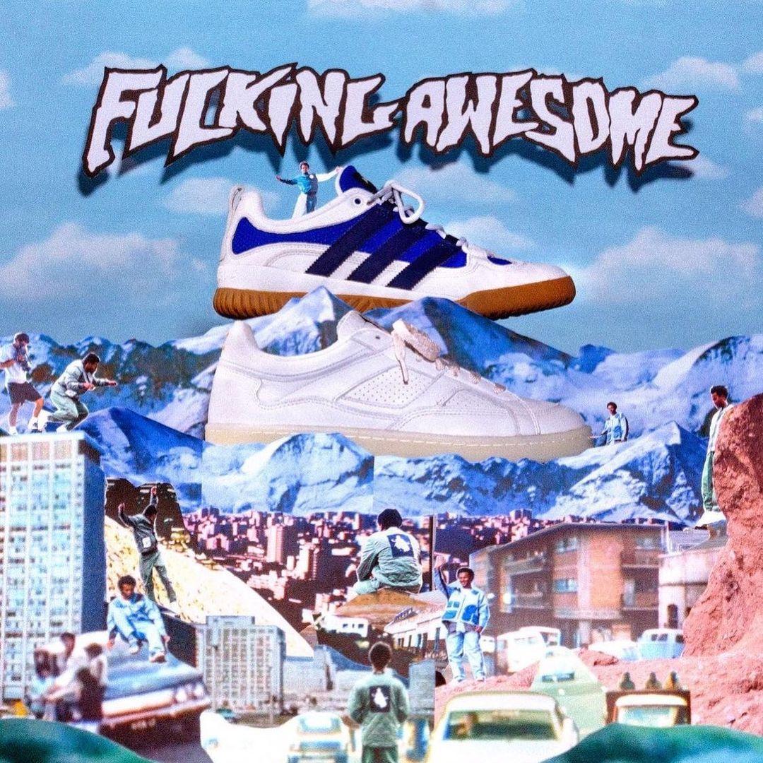 2/17 発売!FUCKING AWESOME x adids Originals (ファッキン オーサム アディダス オリジナルス)