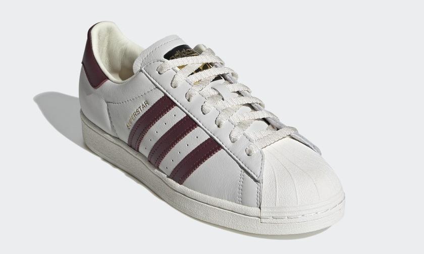 """adidas Originals SUPERSTAR """"Off White/Maroon"""" (アディダス オリジナルス スーパースター """"オフホワイト/マルーン"""") [H68187]"""