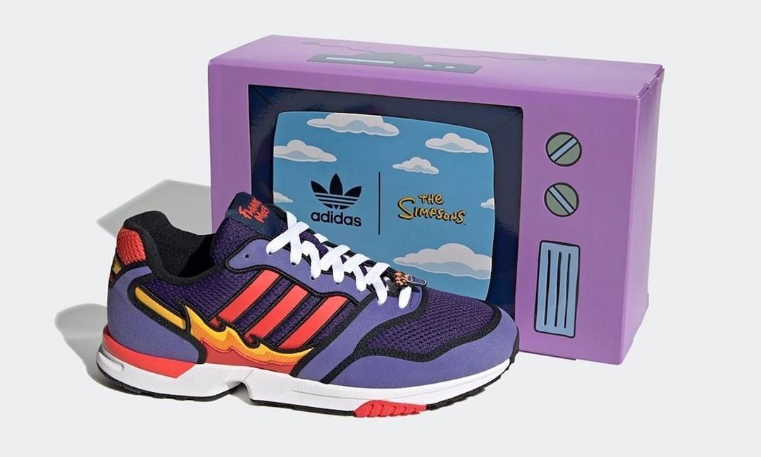 "Simpsons x adidas Originals ZX 1000 ""Flaming Moe's"" (シンプソンズ アディダス オリジナルス ゼットエックス 1000) [H05790]"