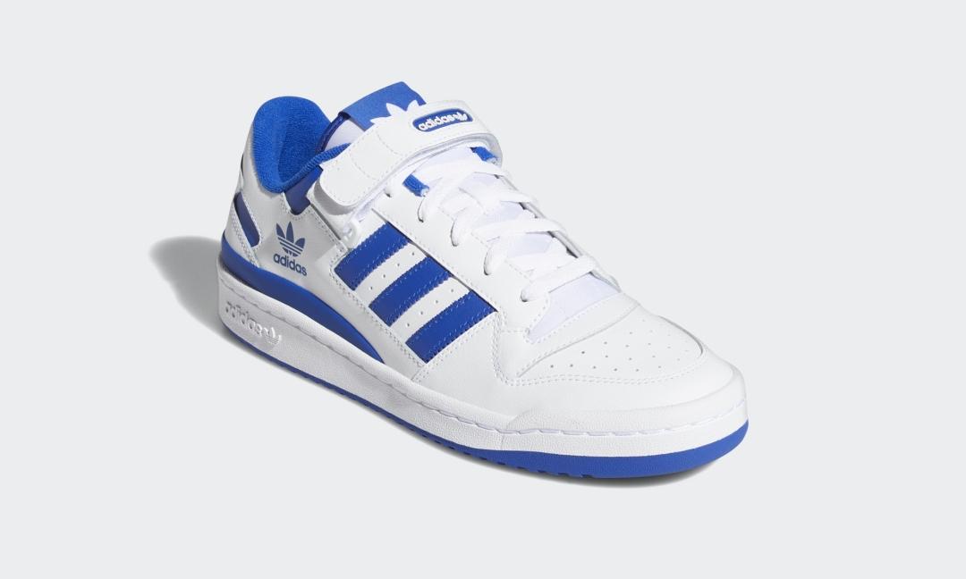 """【国内 3/1 発売予定】adidas Originals FORUM LOW """"White/Royal Blue"""" (アディダス オリジナルス フォーラム ロー """"ホワイト/ロイヤルブルー"""") [FY7756]"""