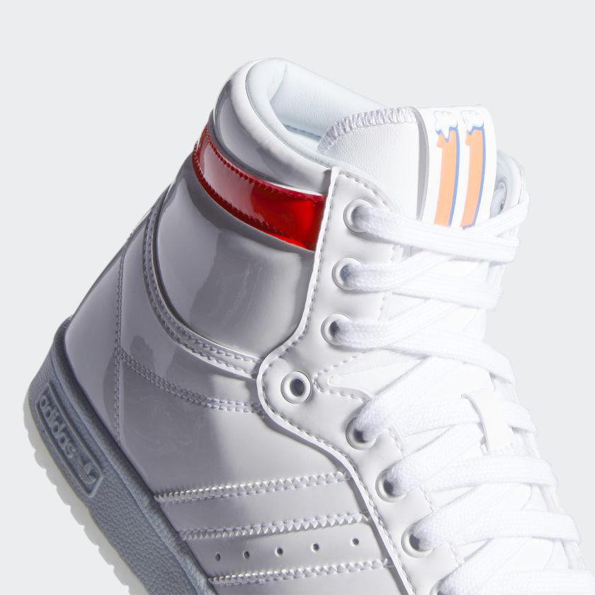 """2/26 発売!Trae Young x adidas Originals TOP TEN HI """"White/Sky Tint"""" (トレイ・ヤング アディダス オリジナルス トップテン ハイ """"ホワイト/スカイティント"""") [GW4977]"""