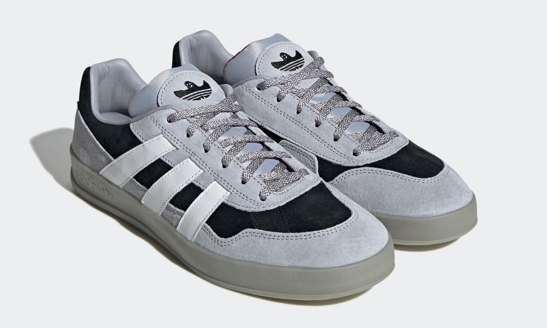 """3/4 発売!adidas Skateboarding × マーク・ゴンザレス「ALOHA SUPER アロハ スーパー」のニューカラー """"Hello Silver"""" (アディダス スケートボーディング MARK GONZALES) [FY0447]"""