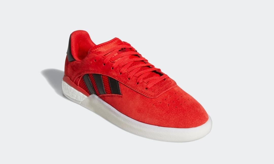 """3/4 発売!アディダス オリジナルス 3ST.004 """"ビビッドレッド/コアブラック"""" (adidas Originals 3ST.004 """"Vivid Red/Core Black"""") [FY0500]"""