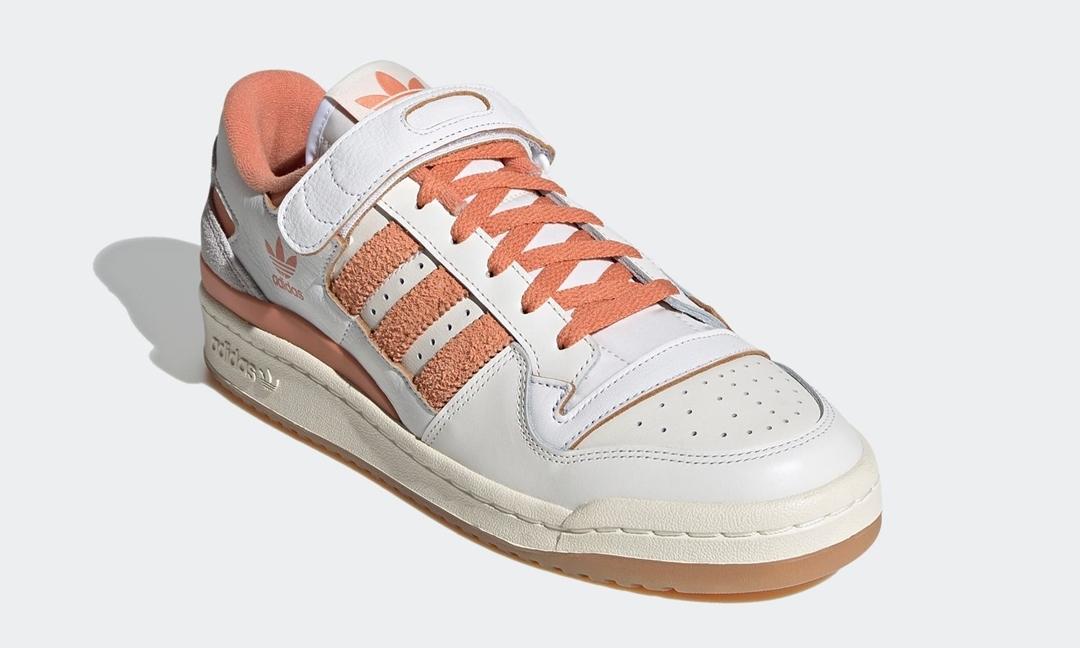 """【国内 3/5 発売】adidas Originals FORUM 84 LOW """"White/Hazy Copper"""" (アディダス オリジナルス フォーラム 84 ロー """"ホワイト/ヘイジーカッパー"""") [G57966]"""
