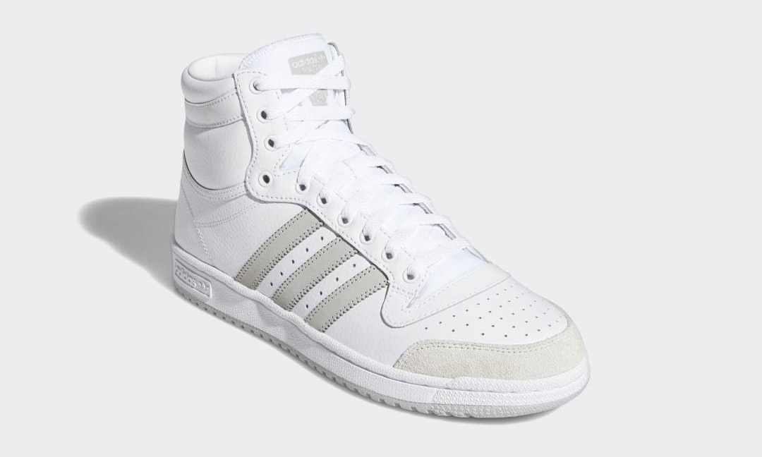 "adidas Originals TOP TEN HI ""White/Grey Two"" (アディダス オリジナルス トップテン ハイ ""ホワイト/グレーツー"") [FY7096]"