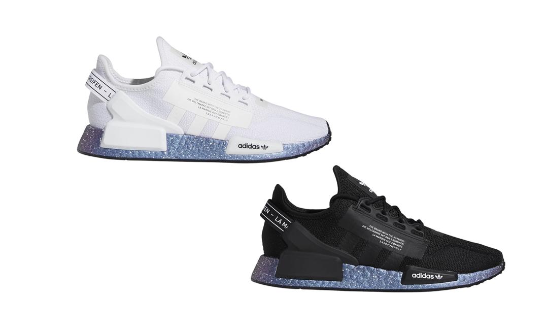 """4/1 発売!adidas Originals NMD_R1 V2 """"Cloud White/Core Black"""" (アディダス オリジナルス エヌ エム ディー ブイツー """"ホワイト/ブラック"""") [GX5163,GX5164]"""