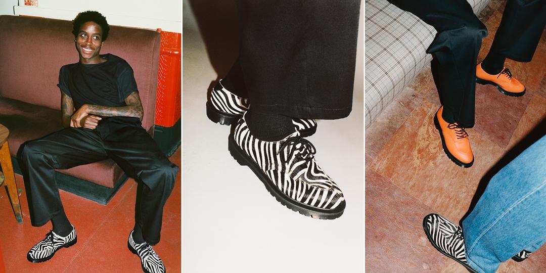 """【速報】4/10 発売!シュプリーム (SUPREME) × ドクターマーチン (Dr. Martens) 2021 S/S """"5-Eye Shoe"""""""