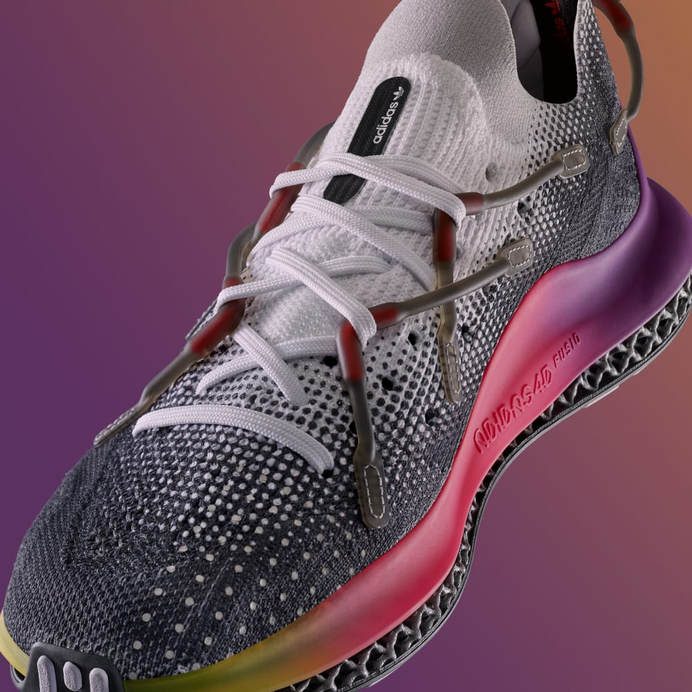 """4/15 発売!アディダス オリジナルス フュージョ """"ホワイト/ウルトラパープル"""" (adidas Originals 4D FUSIO """"White/Ultra Purple"""") [FY3609]"""