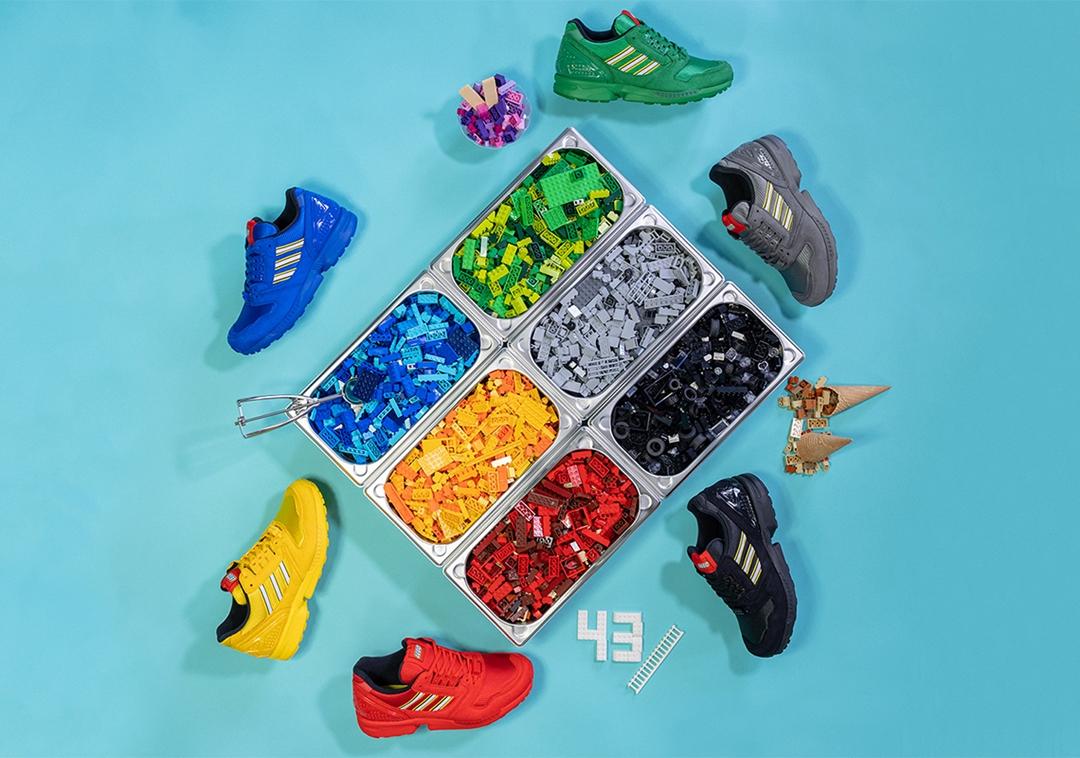 5/7 発売!レゴ × アディダス オリジナルス ゼットエックス 8000 6カラー (adidas Originals ZX 8000 LEGO) [FY7080,FY7081,FY7082,FY7083,FY7084,FY7085]