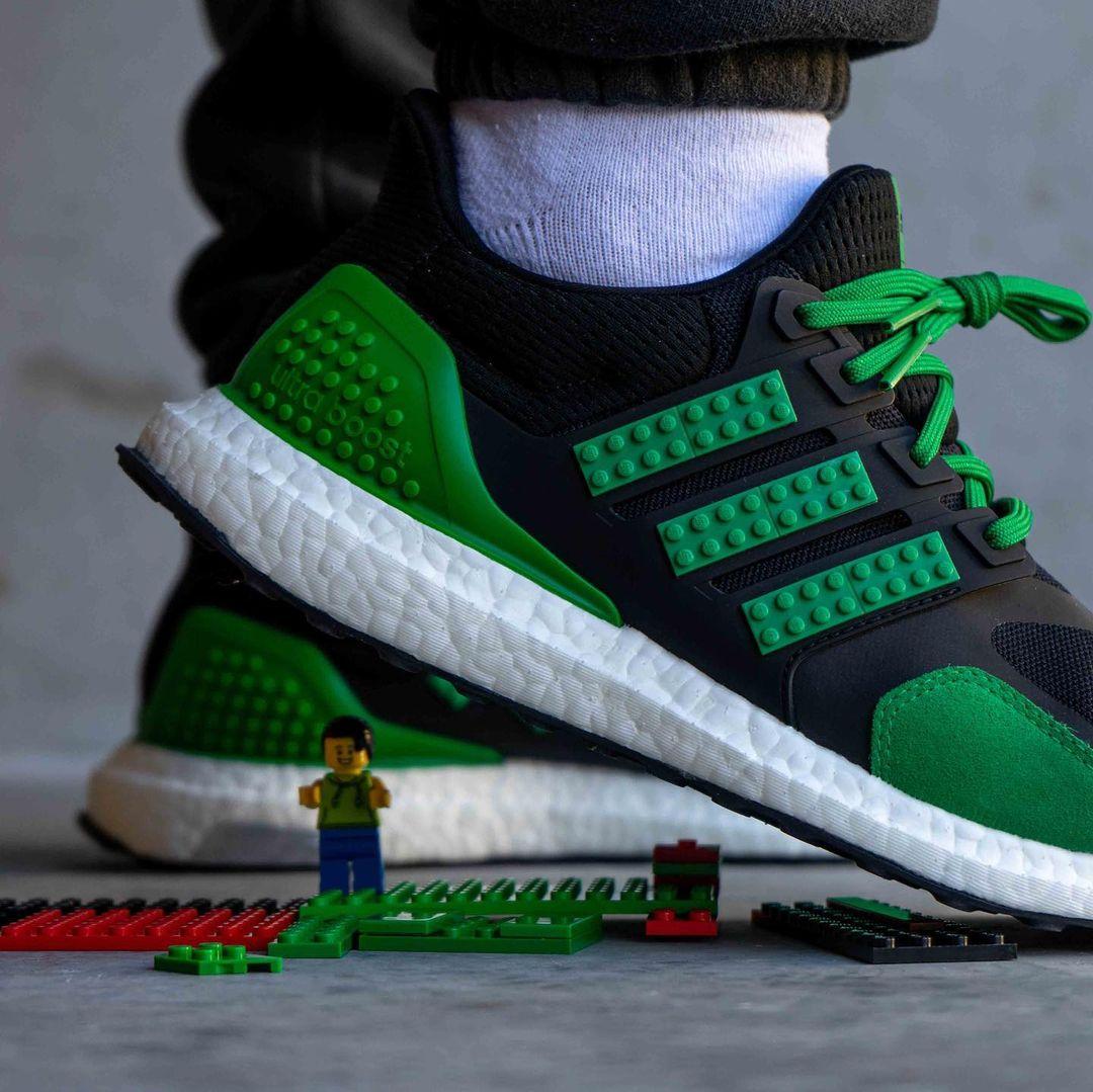 """2021年 発売予定!LEGO x adidas ULTRA BOOST """"Green/Black"""" (レゴ アディダス ウルトラ ブースト """"グリーン/ブラック"""")"""