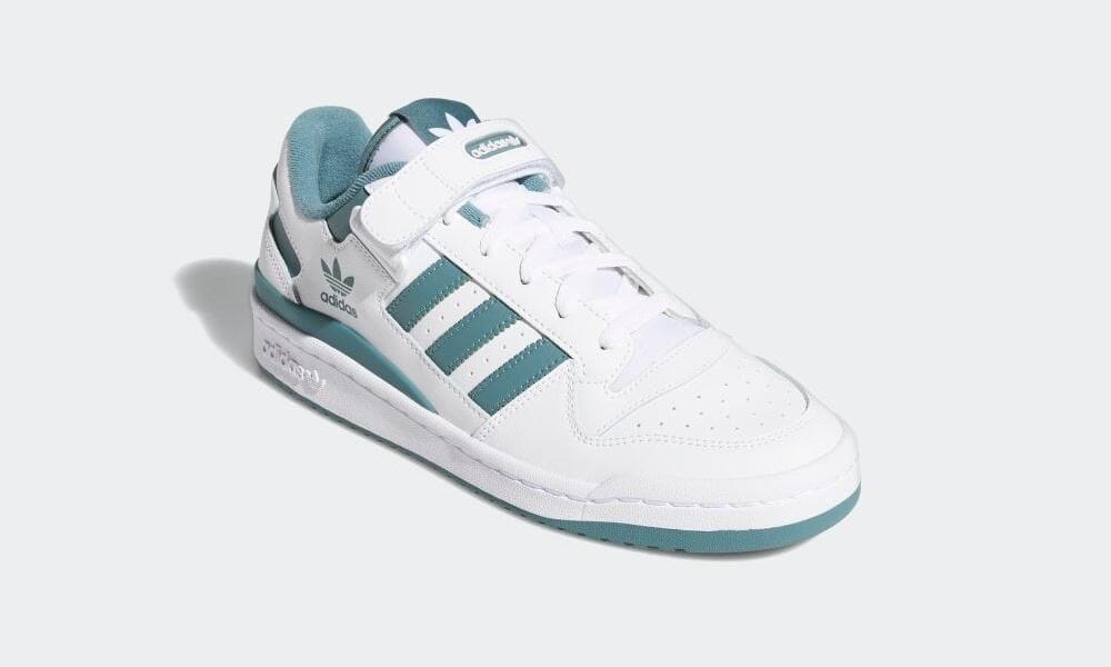 """4/15 発売!adidas Originals FORUM LOW """"White/Hazy Emerald"""" (アディダス オリジナルス フォーラム ロー """"ホワイト/ヘイジーエメラルド"""") [FY7758]"""
