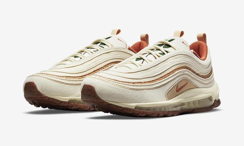 """海外 4/29 発売!ナイキ エア マックス 97 SE """"コルク/ココナッツミルク/ライトシエナ"""" (NIKE adidas client_id shoes outlet SE """"Cork/Coconut Milk/Lite Sienna"""") [DC3986-100]"""