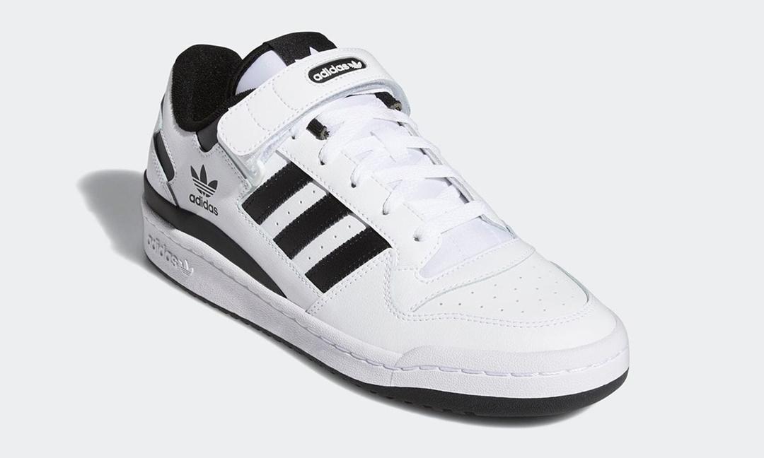 """海外 4/15 発売!adidas Originals FORUM LOW """"White/Black"""" (アディダス オリジナルス フォーラム ロー """"ホワイト/ブラック"""") [FY7757]"""