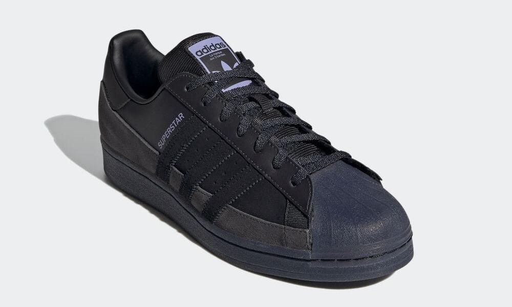 """5/6 発売!スケートスタイルのアディダス オリジナルス スーパースター """"コアブラック/ダストパープル"""" (adidas Originals SUPERSTAR """"Core Black/Dust Purple"""") [FX5564]"""