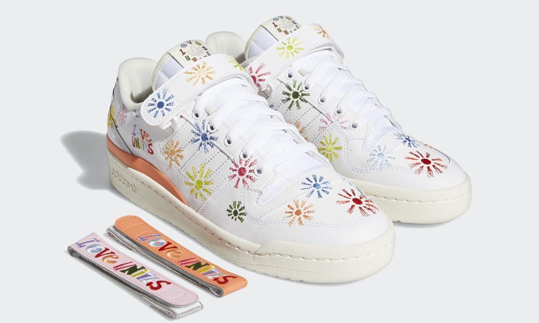 """5/15 発売!adidas Originals FORUM LOW """"Pride Pack/Love Unites"""" (アディダス オリジナルス フォーラム ロー """"プライドパック"""") [GW2416]"""