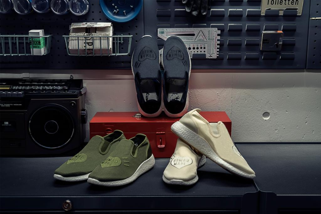 5/25 発売!adidas Originals × HUMAN MADE SLIP-ON PURE HM (アディダス オリジナルス ヒューマンメイド) [GX5203,GX5204,GX5206]