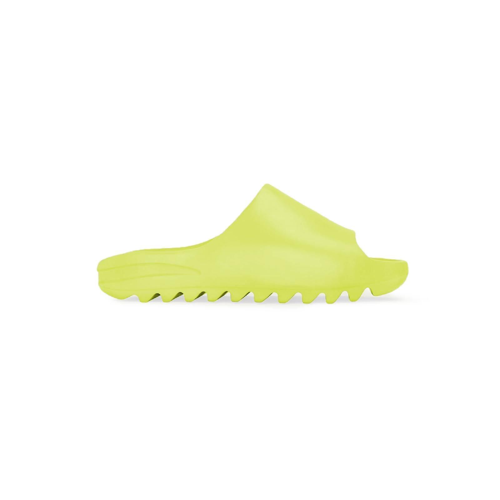 """8月 発売!adidas Originals YEEZY SLIDE """"Glow Green"""" (アディダス オリジナルス イージー スライド)"""