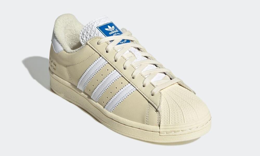 """5/21 発売!adidas Originals SUPERSTAR """"Cream White/White/Blue Bird """" (アディダス オリジナルス スーパースター """"クリームホワイト/ホワイト/ブルーバード"""") [H05658]"""