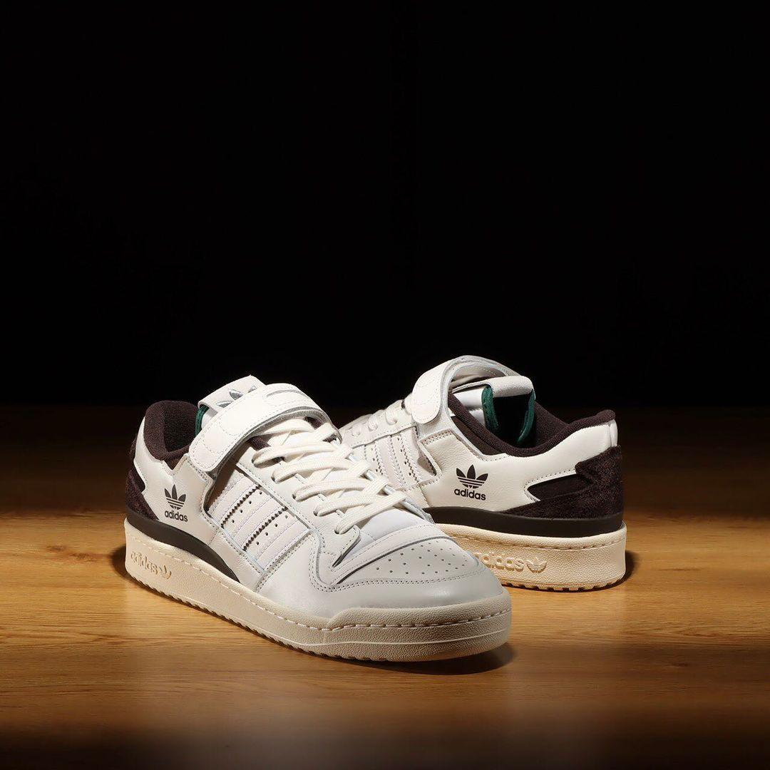 """【国内 5/26 発売】adidas Originals FORUM 84 LOW """"White/Brown"""" (アディダス オリジナルス フォーラム 84 ロー """"ホワイト/ブラウン"""") [GZ8959]"""