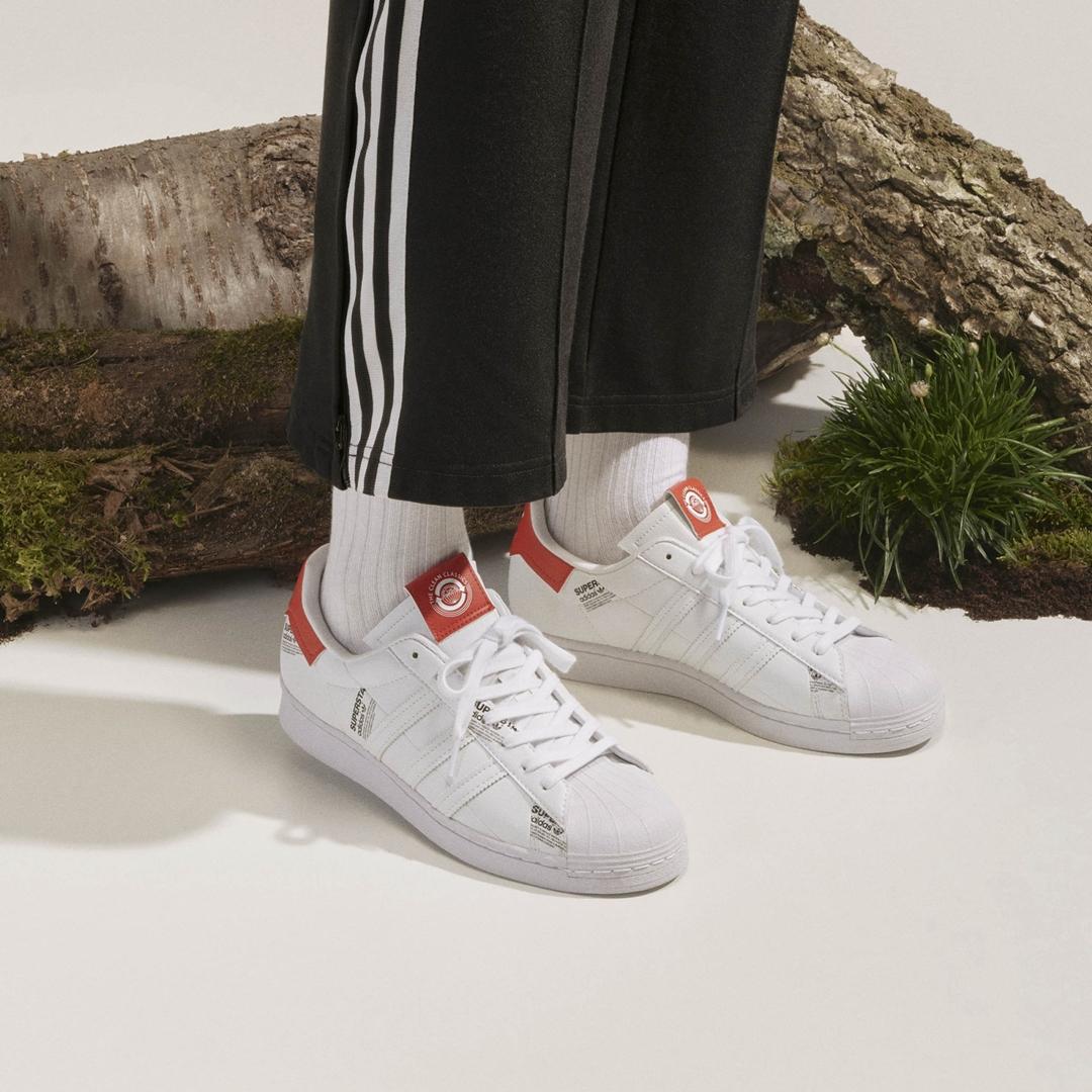 """6/1 発売!adidas Originals SUPERSTAR """"White/Vivid Red/Black"""" (アディダス オリジナルス スーパースター """"ホワイト/ビビッドレッド/ブラック"""") [GV7672]"""