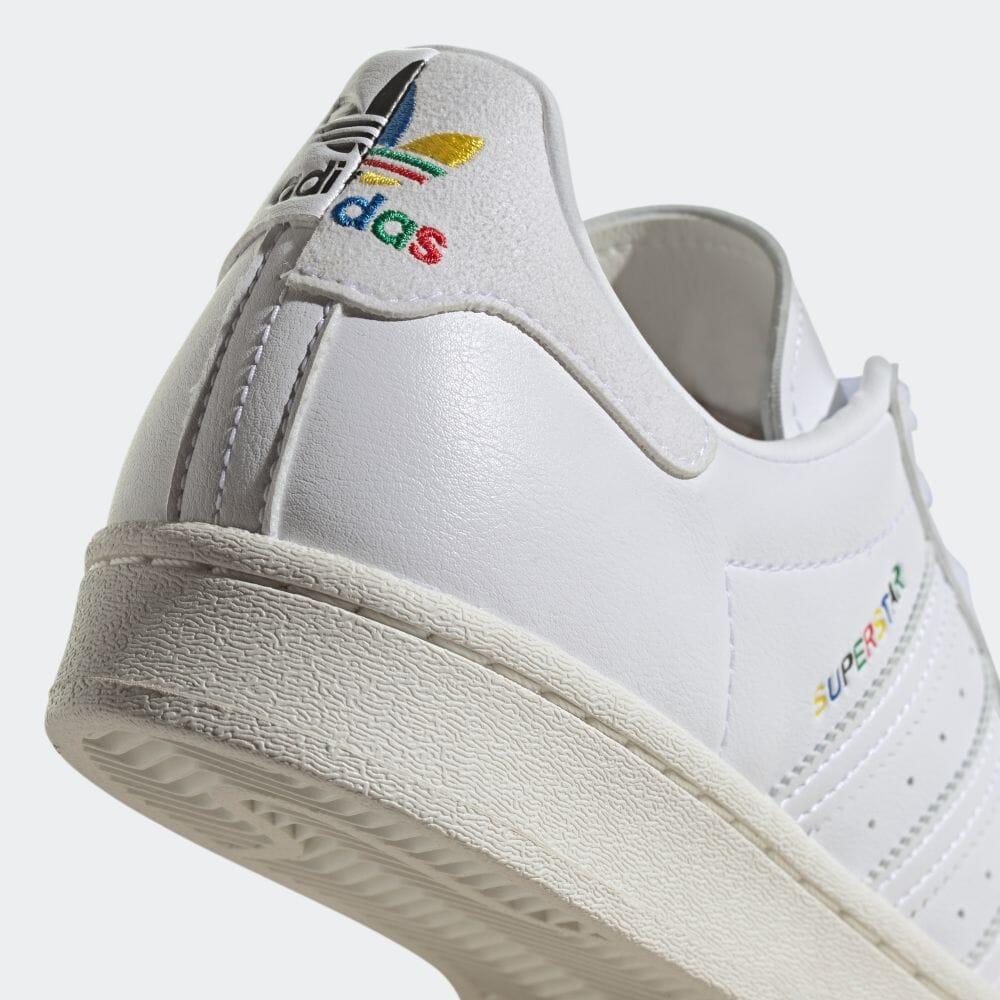 """6/3 発売!東京オリンピックを讃えた adidas Originals SUPERSTAR """"White/Off White"""" (アディダス オリジナルス スーパースター """"ホワイト/オフホワイト"""") [GZ7537]"""