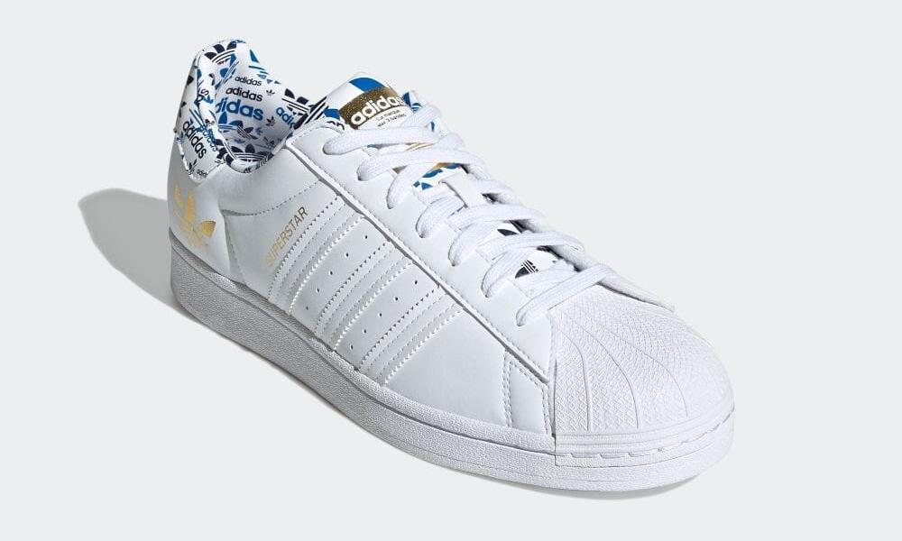 """6/3 発売!色鮮やかに仕上げた adidas Originals SUPERSTAR """"White/Gold Metallic"""" (アディダス オリジナルス スーパースター """"ホワイト/ゴールドメタリック"""") [H00186]"""