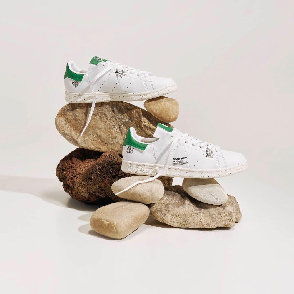 """6/17 発売!爽やかな白地のアッパーにデジタルプリントを施した アディダス オリジナルス スタンスミス """"ホワイト/グリーン"""" (adidas Originals STAN SMITH """"White/Green"""") [GV7666]"""