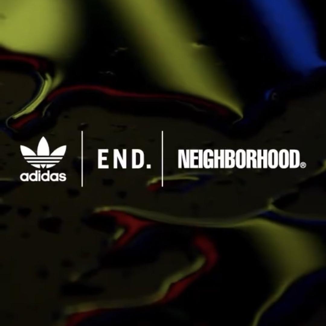 6/26 発売!NEIGHBORHOOD × adidas Originals x END コラボ(ネイバーフッドアディダス オリジナルス エンド)