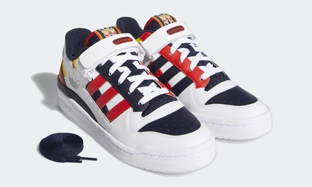 """7/16 発売!adidas Originals FORUM LOW """"White/Legend Ink/Red"""" (アディダス オリジナルス フォーラム ロー """"ホワイト/レジェンドインク/レッド"""") [GZ9112]"""