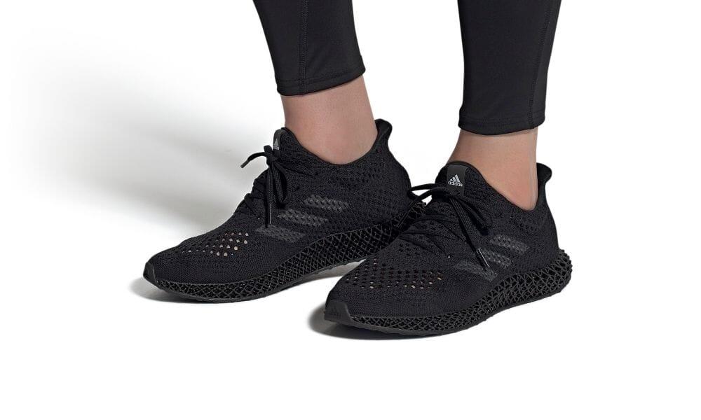 """7/30 発売!adidas Futurecraft 4D """"Black/Carbon"""" (アディダス フューチャークラフト 4D """"ブラック/カーボン"""") [Q46228]"""