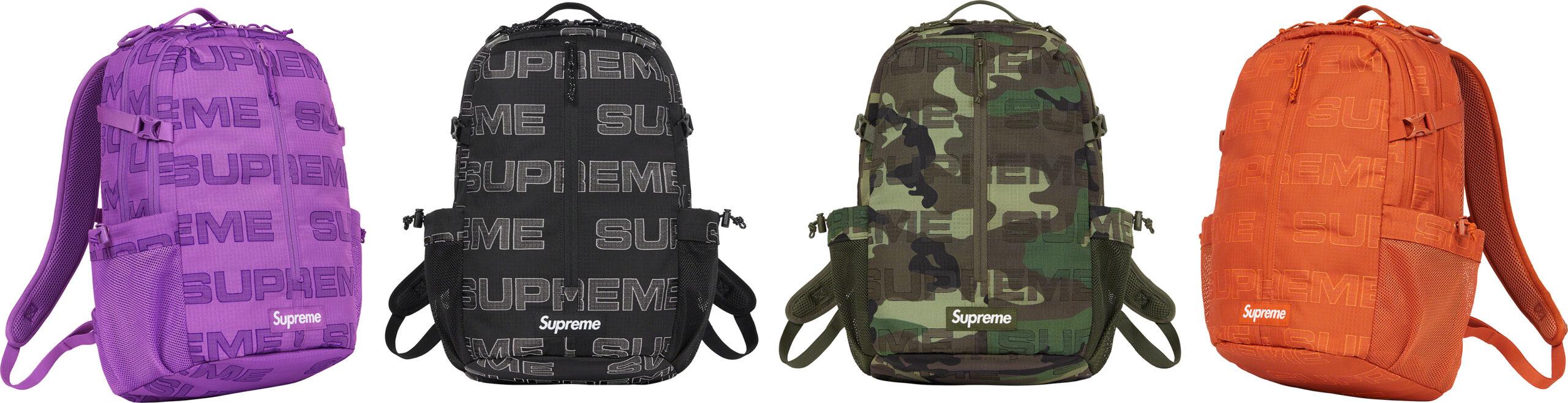 【バッグ/BAGS まとめ】 シュプリーム (SUPREME) 2021 FALL/WINTER コレクション (2021年 秋冬)