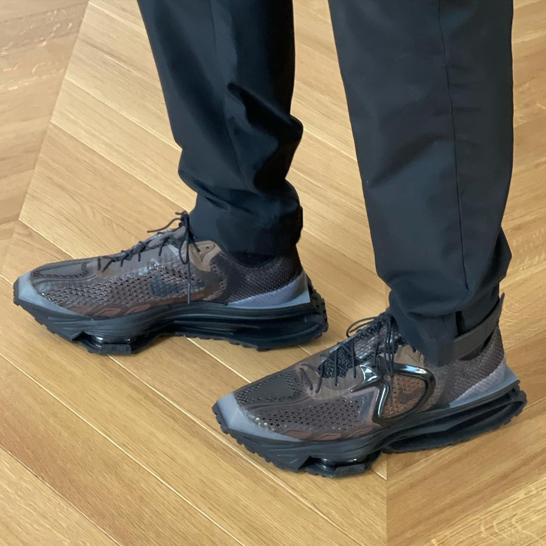 """海外 10月発売予定!Matthew M Williams x Nike Zoom MMW 4 """"Black/Brown"""" (マシュー・ウィリアムズ ナイキ """"ブラック/ブラウン"""")"""