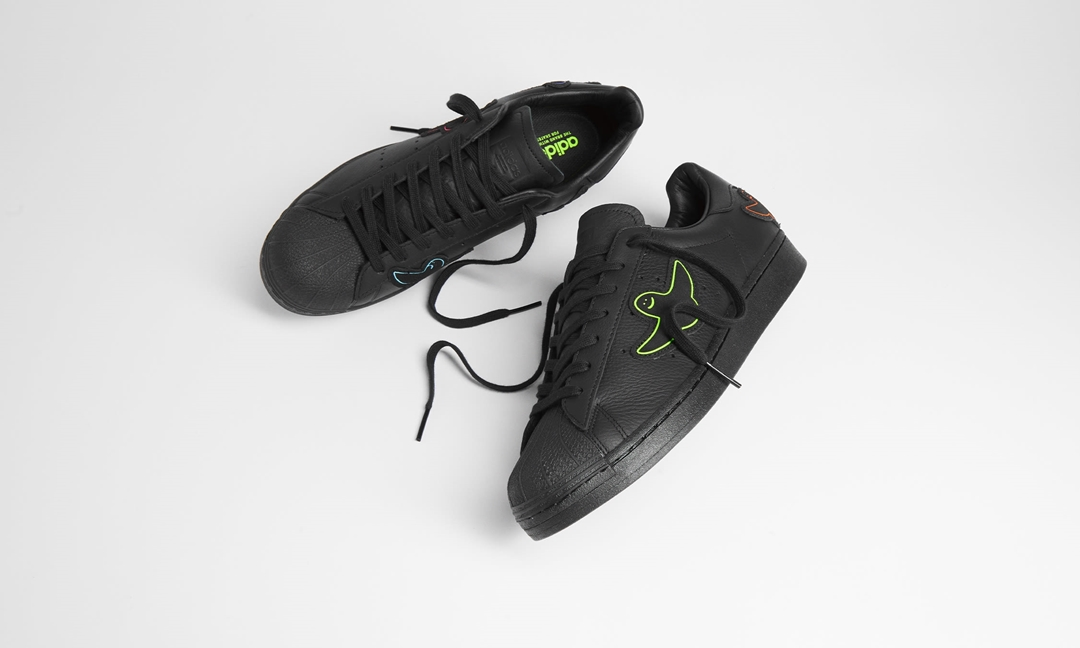 """10/9 発売!adidas Originals × MARK GONZALES SUPERSTAR ADV """"Shmoo/Core Black"""" (アディダス オリジナルス マーク・ゴンザレス スーパースター """"シャムー/コアブラック"""") [GX1488]"""