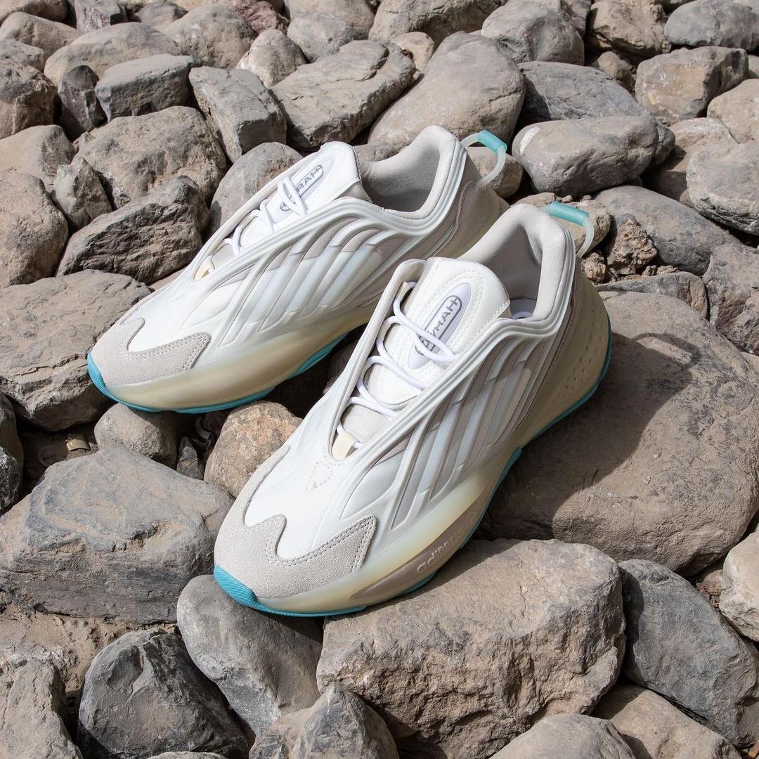 """10/4 発売!アディダス オリジナルス オズラー """"ホワイト/ミントトーン"""" (adidas Originals OZRAH """"White/Mint Tone"""") [Q46433]"""