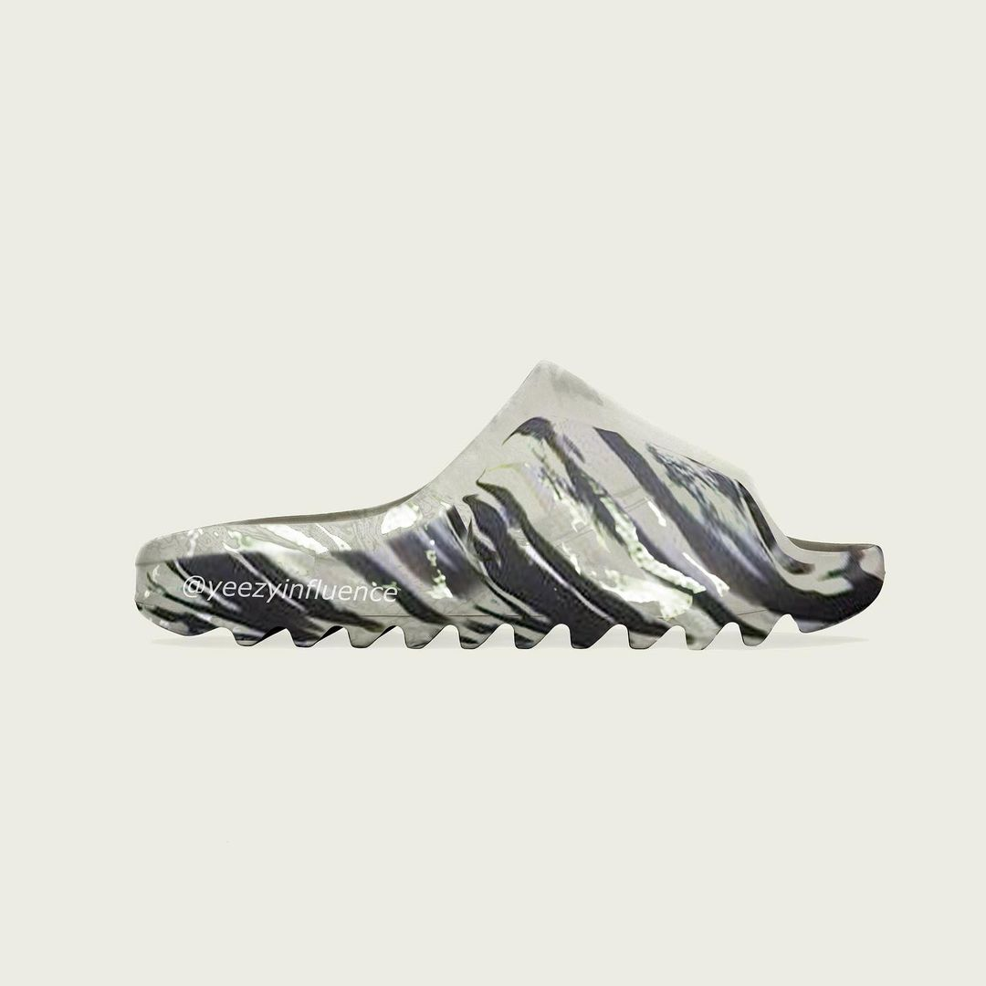 """【リーク】adidas Originals YEEZY SLIDE """"Marble"""" (アディダス オリジナルス イージー スライド)"""