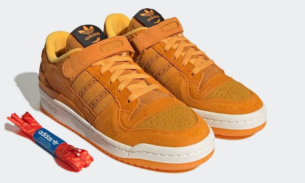 """【10/8 発売】adidas Originals FORUM 84 LOW """"Focus Orange"""" (アディダス オリジナルス フォーラム 84 ロー """"フォーカスオレンジ"""") [GY8997]"""
