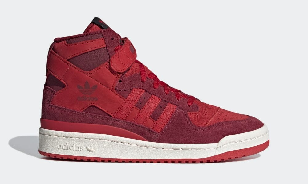 """【10/8 発売】adidas Originals FORUM 84 HIGH """"College Burgundy/Power Red"""" (アディダス オリジナルス フォーラム 84 ハイ """"カレッジバーガンディ/パワーレッド"""") [GY8998]"""