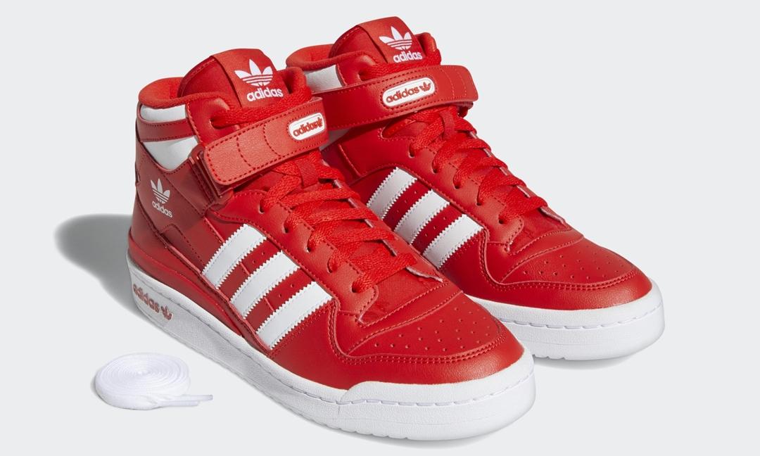 """adidas Originals FORUM MID """"Red/White"""" (アディダス オリジナルス フォーラム ミッド """"レッド/ホワイト"""") [GY5792]"""